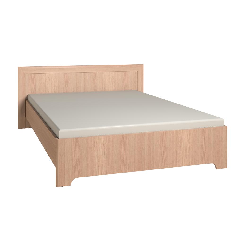 Кровати: Кровать Анкона 2 (1600, орт. осн. дерево) в Стильная мебель
