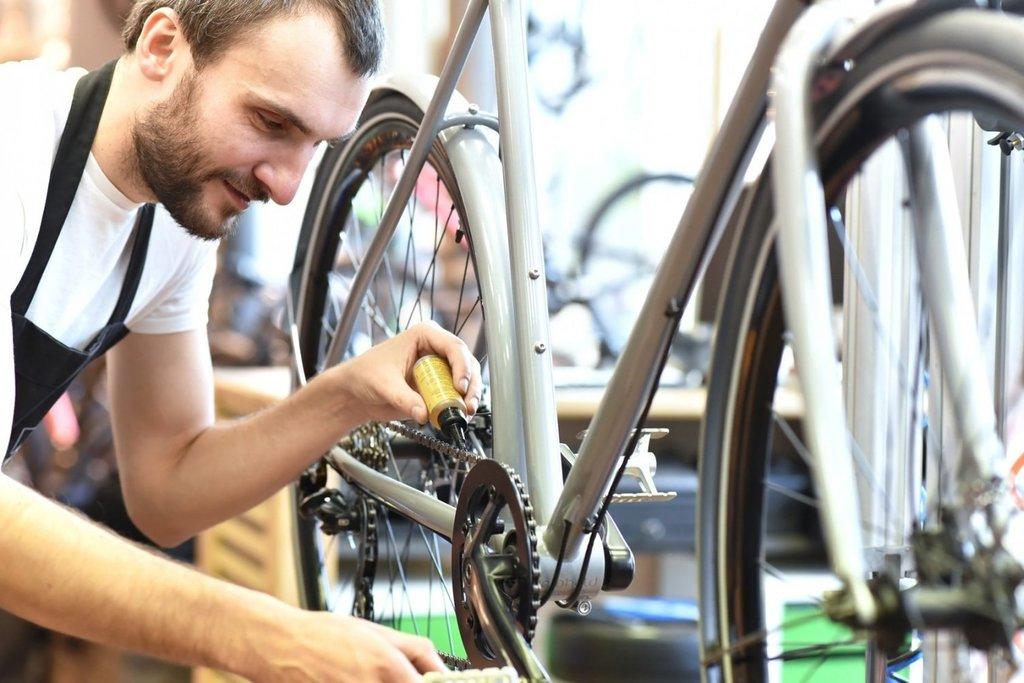 Ремонт велосипеда: Сборка велосипеда в Веломеханика