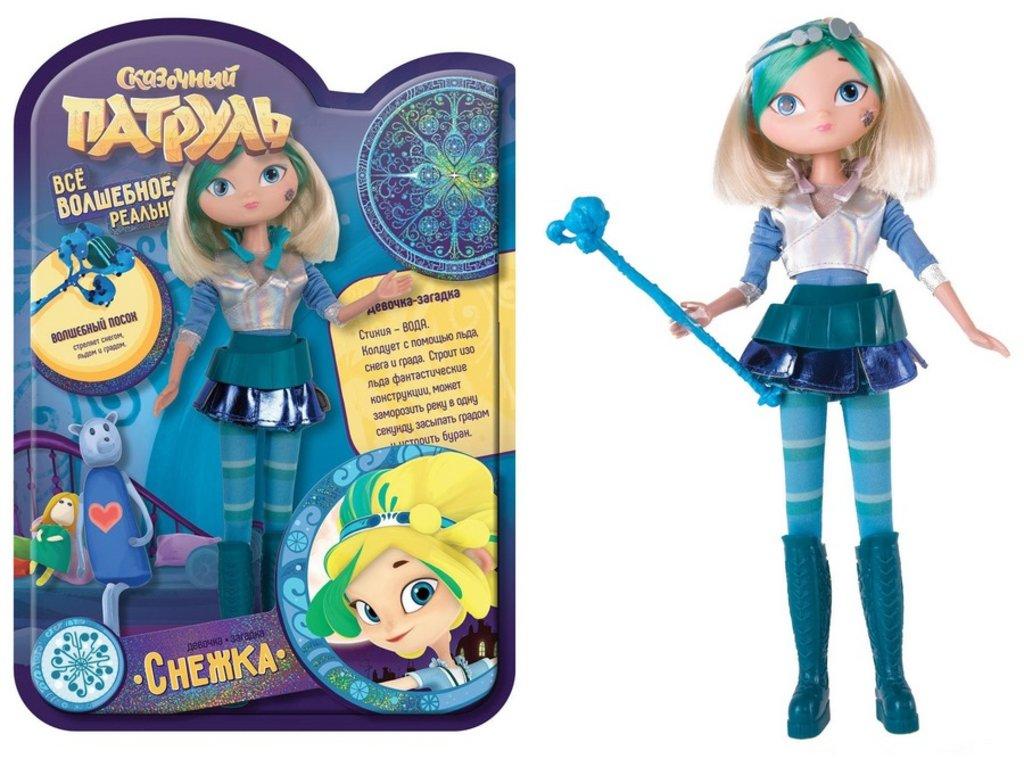 Игрушки для девочек: Сказочный патруль Кукла, серия Magic Снежка в Игрушки Сити