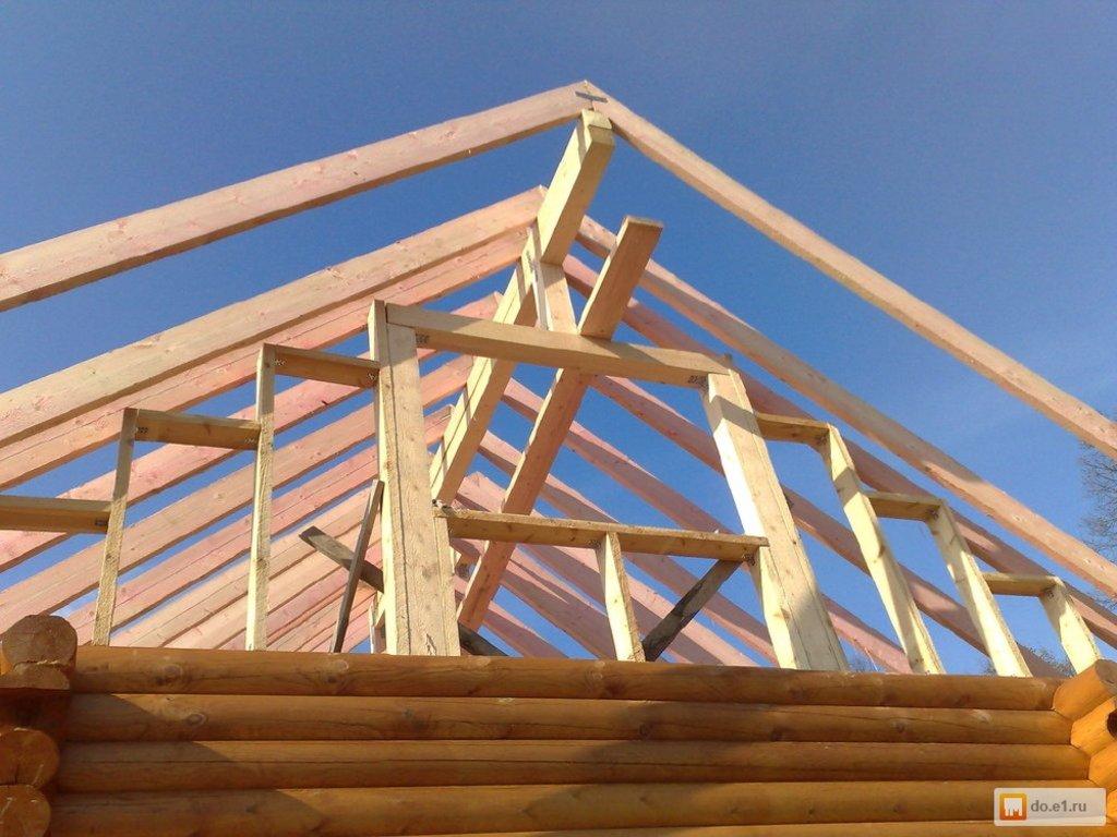 Кровельные работы: Установка крыши в Теплый Дом
