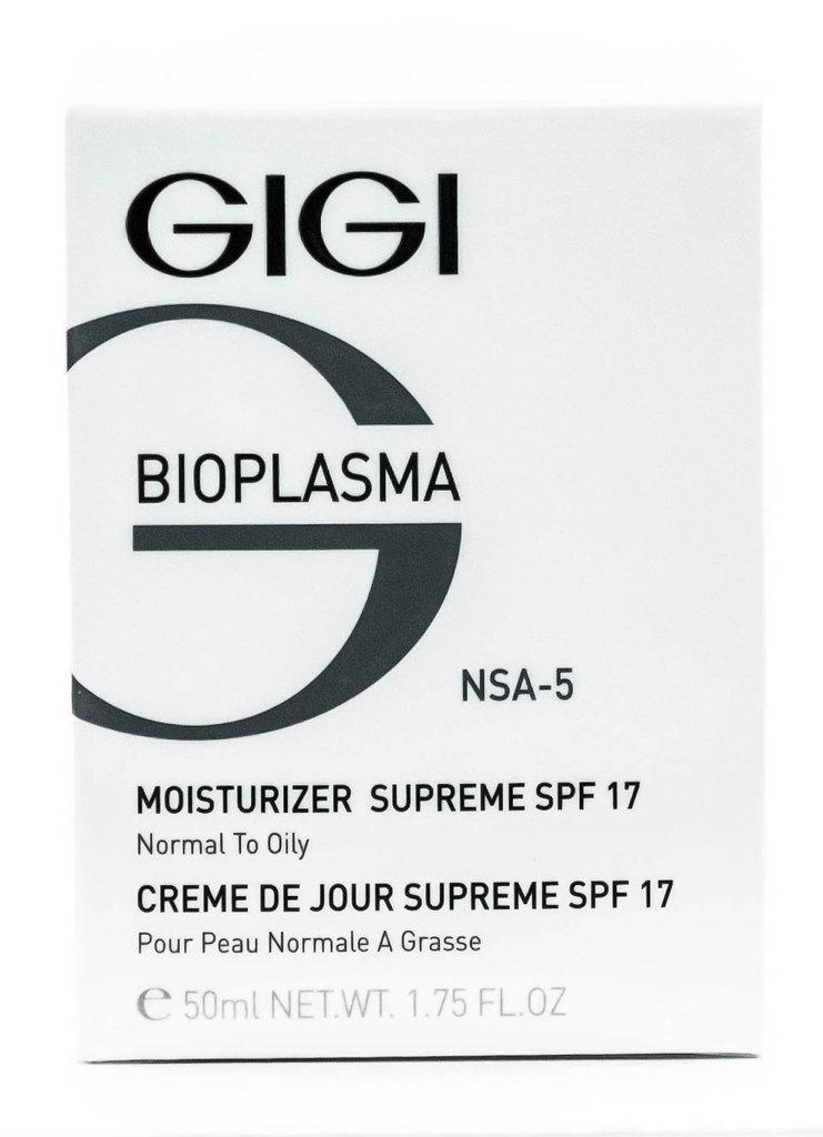 Крема: Крем увлажняющий для жирной кожи с SPF 17 / Moist Supreme SPF 17, Bioplasma, GiGi в Косметичка, интернет-магазин профессиональной косметики