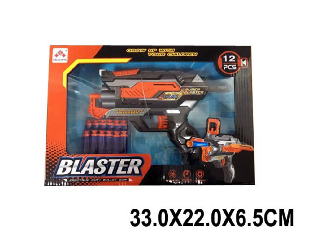 Игрушки для мальчиков: Бластер с патронами на присосках SB478 в коробке в Игрушки Сити