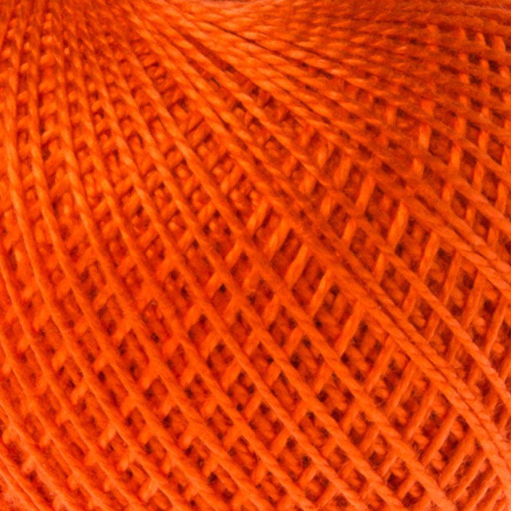 Ирис 25гр.: Нитки Ирис 25гр.150м.(100% хлопок)цвет 0712 ярко оранжевый в Редиант-НК