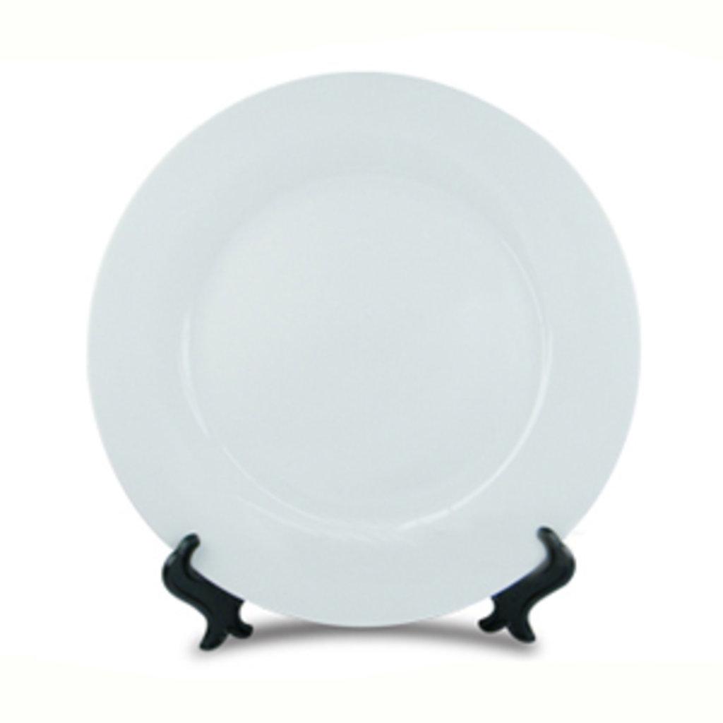 Тарелки и керамическая плитка: Белая тарелка в NeoPlastic