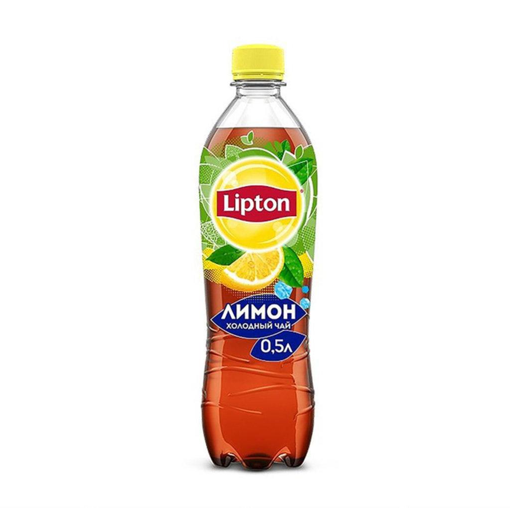 Напитки: Lipton лимон 0,5 л в Сбарро