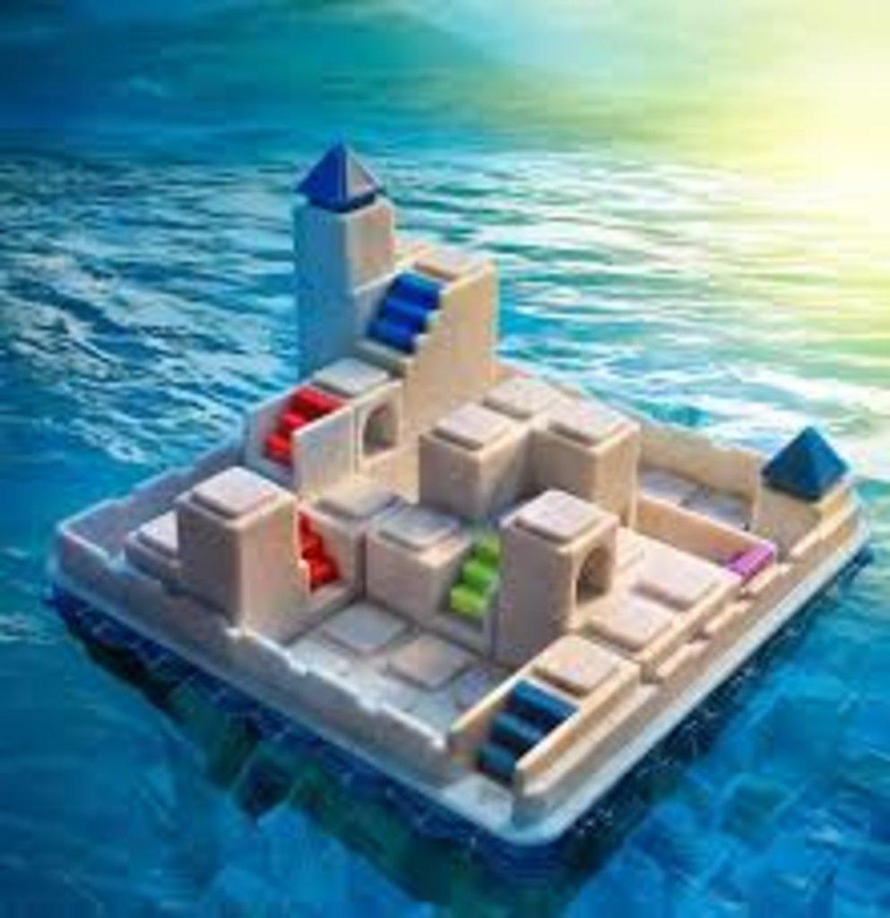 Настольные и спортивные игры: Логическая игра Bondibon Smart Games Побег из Атлантиды в Игрушки Сити