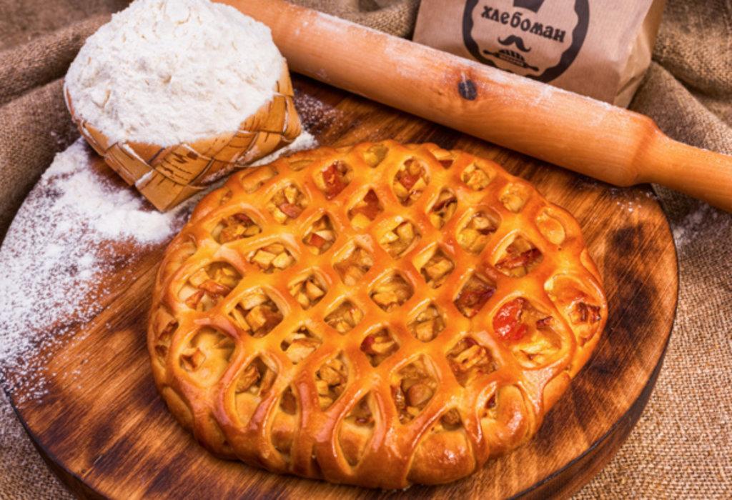 Сладкие пироги: Яблочник в Хлебоман