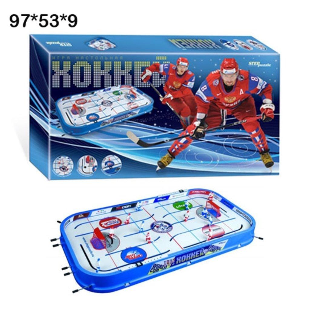 Игрушки для мальчиков: Steppuzzle  Настольная игра 76195 Хоккей (новый сезон) в Игрушки Сити
