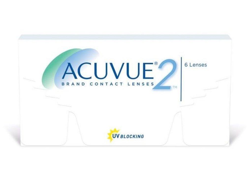 Контактные линзы: Контактные линзы Acuvue 2 (6шт / 8.7) Johnson & Johnson в Лорнет