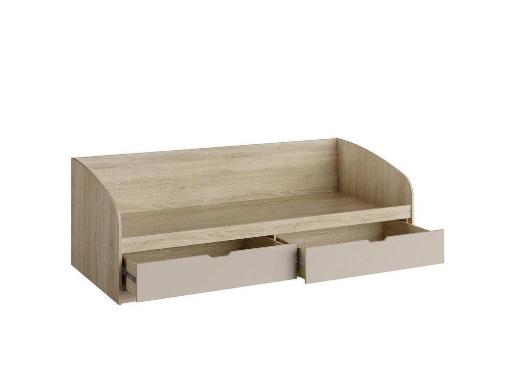 Детские и подростковые кровати: Кровать НМ 008.63 М Акварель (900х2000, усилен. настил) в Стильная мебель
