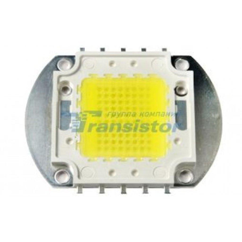 Светодиоды, светодиодные матрицы, термопаста: Мощный светодиод HPR40E-19K100WGAA-1 100W White в СВЕТОВОД