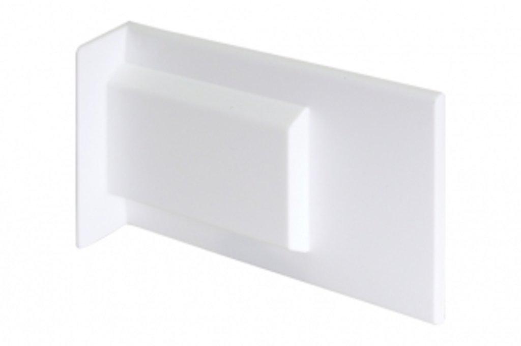Подвеска каркасов: Крышечка декоративная для подвески арт.807.XL белая в МебельСтрой