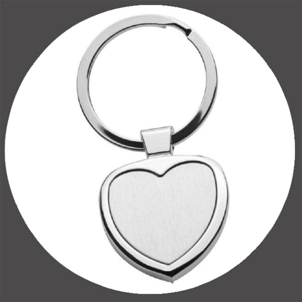 Брелоки: Брелок Сердце в NeoPlastic