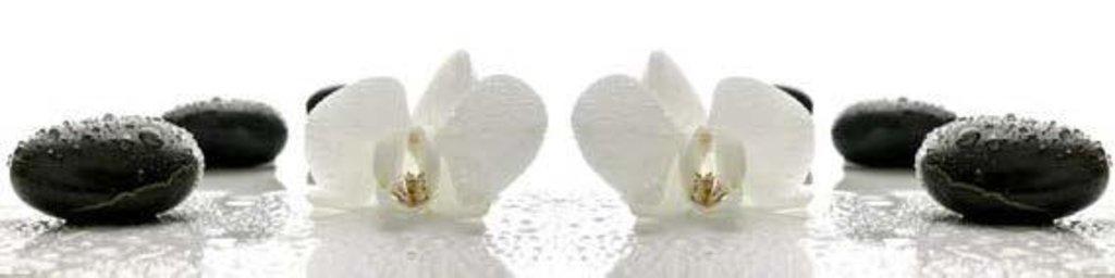 Фартуки ЛакКом 4 мм.: Орхидея №1 в Ателье мебели Формат