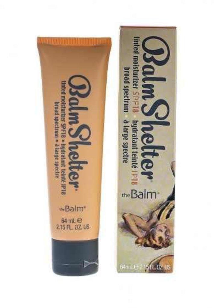 Тональный крем, BB крем: Легкий увлажняющий крем с тональным эффектом theBalm Balm Shelter Tinted Moisturizer в Мой флакон