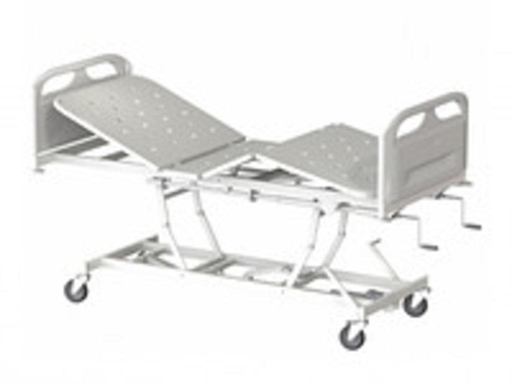 Медицинские кровати: Кровать медицинская для лежачих больных КМФТ144 МСК-3144 в Техномед, ООО