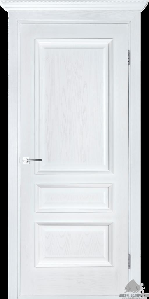 Двери Белоруссии  шпонированые: Вена (белый ясень) в STEKLOMASTER
