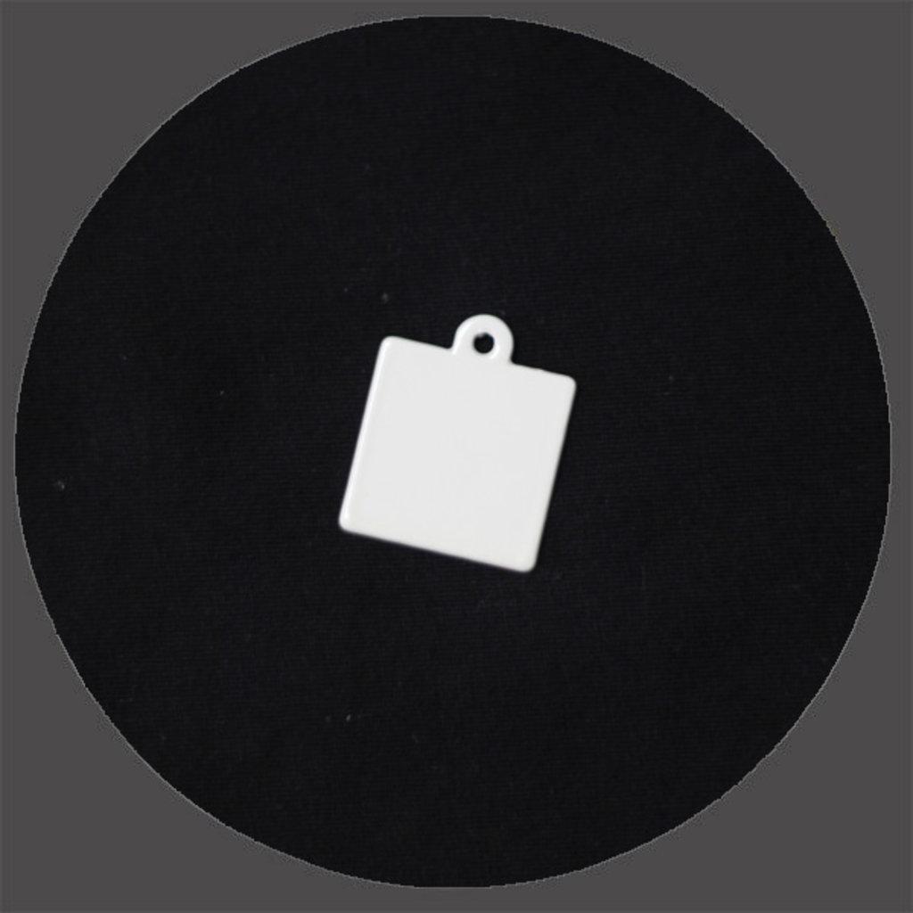 Брелоки: Брелок квадрат под сублимацию в NeoPlastic
