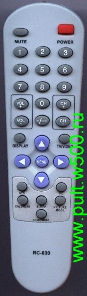 SHIVAKI: Пульт SHIVAKI RC-830 (TV) HUAYU в A-Центр Пульты ДУ