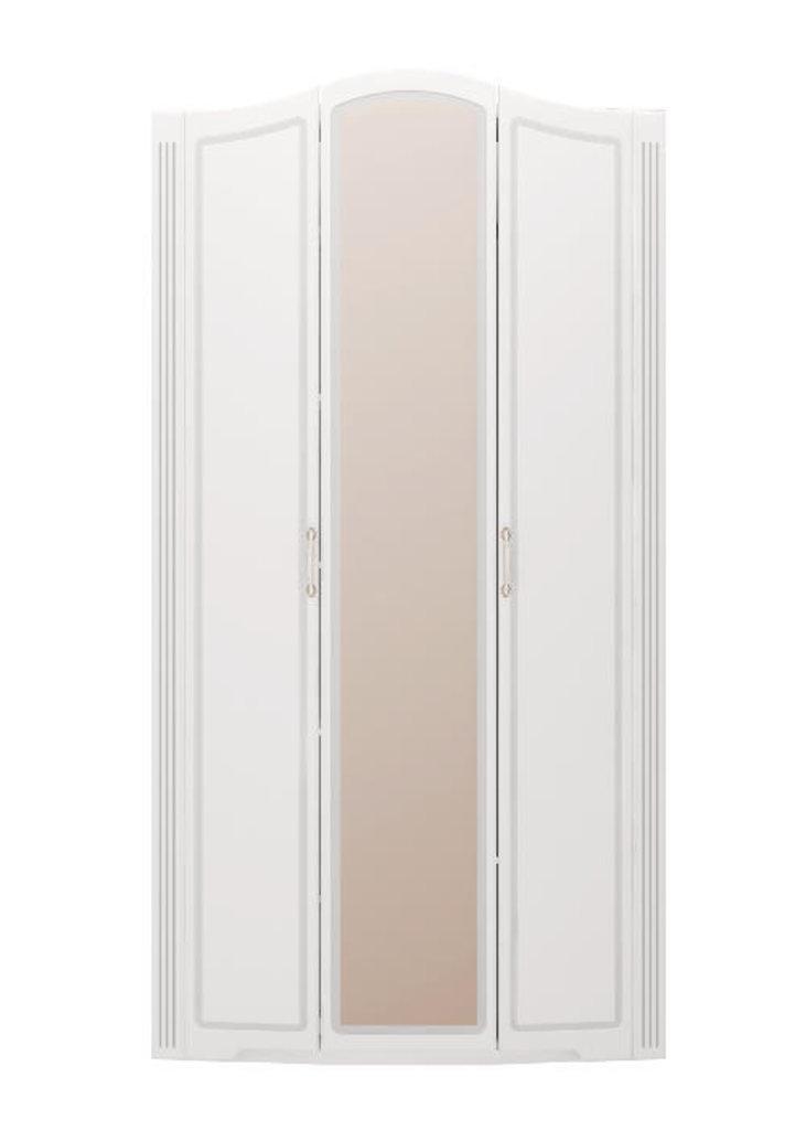 Шкафы для одежды и белья: Шкаф для одежды 3-х дверный (с зерк) (09) Виктория в Стильная мебель