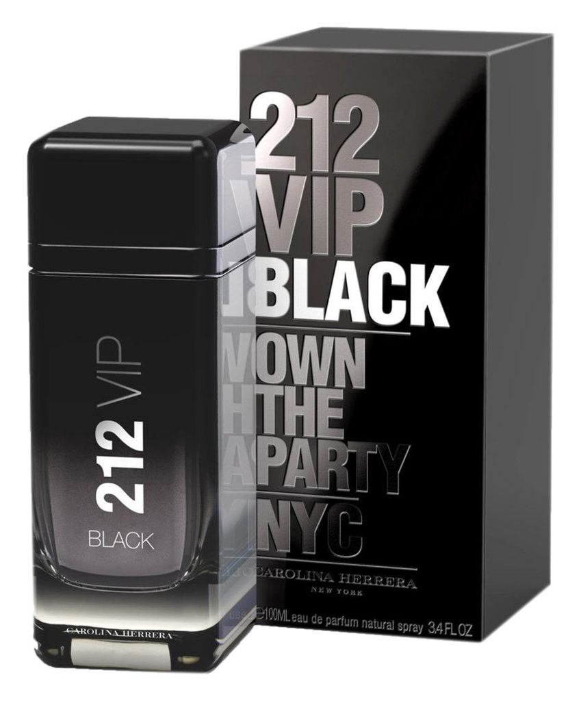 Carolina Herrera (Каролина Эррера): Carolina Herrera 212 VIP Black EDP Man (Каролина Эррера 212 вип Блек Мен Парфюм) 100мл в Мой флакон