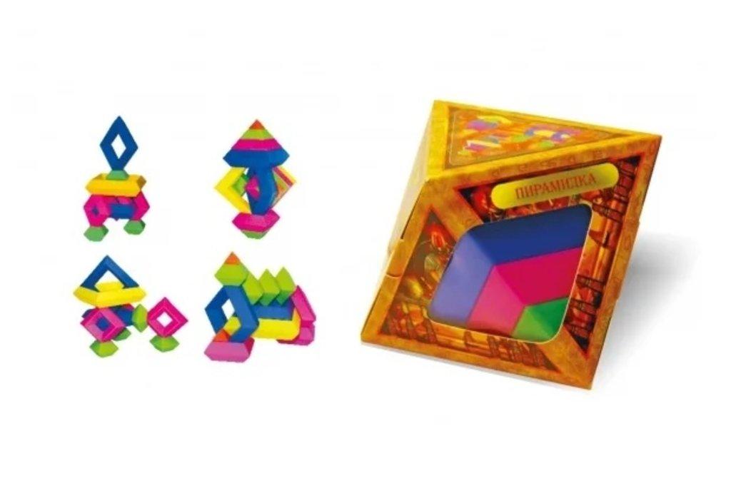 """Развивающие игры Творчество: Головоломка 🧩 """"Пирамидка Эра"""" 🧩или  Игрушка-пирамидка Эра «Эрудит» в Игрушки Сити"""