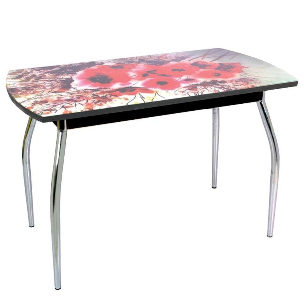 Столы обеденные: Стол обеденный без полки 5.1 акварель в Уютный дом