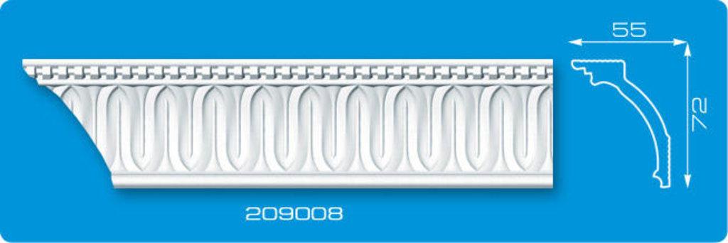Плинтуса потолочные: Плинтус потолочный ФОРМАТ 209008 инжекционный длина 2м в Мир Потолков
