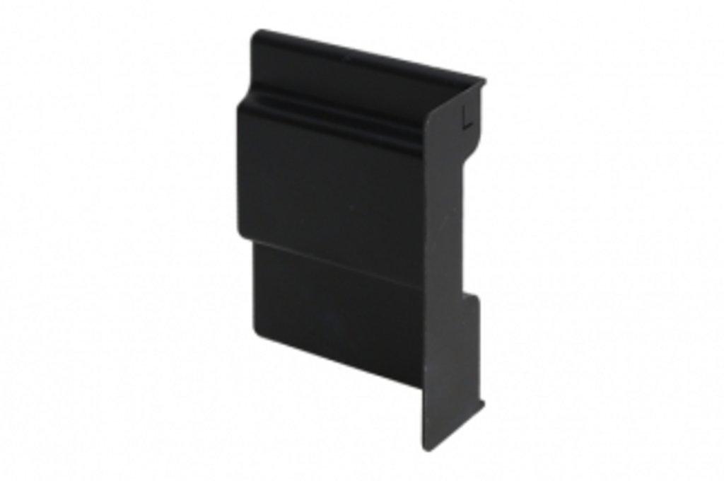 Подвеска каркасов: Крышечка декоративная для подвески арт.807 чёрная, левая в МебельСтрой