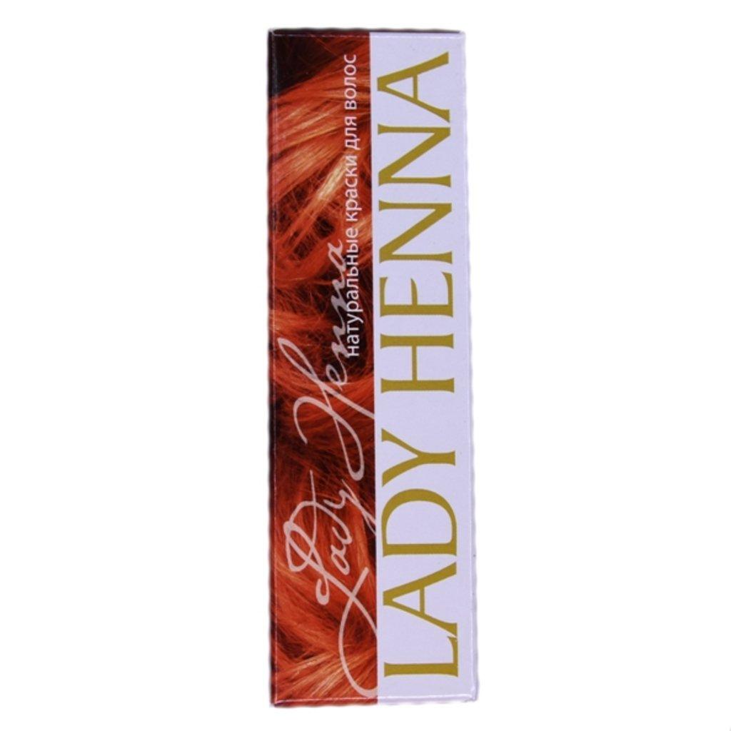 Средства для волос: Натуральная краска для волос - №7 махагони (Lady Henna) в Шамбала, индийская лавка