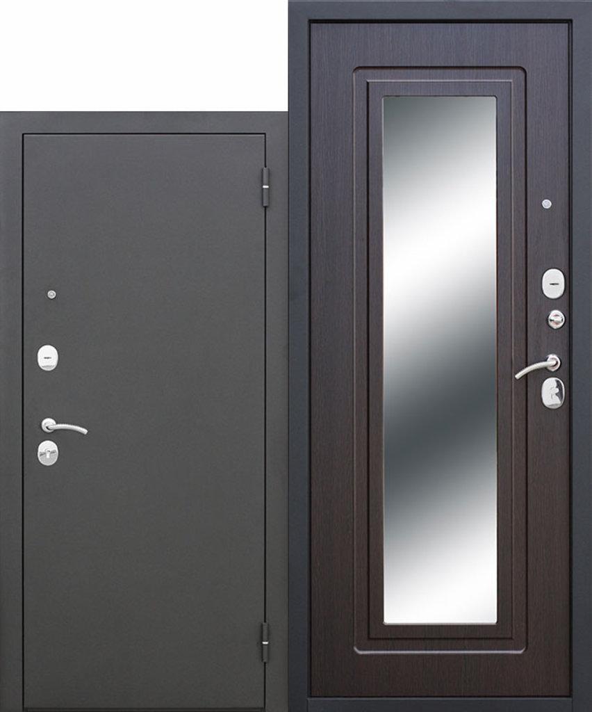 Двери завода Феррони: Царское зеркало Муар Венге в Модуль Плюс