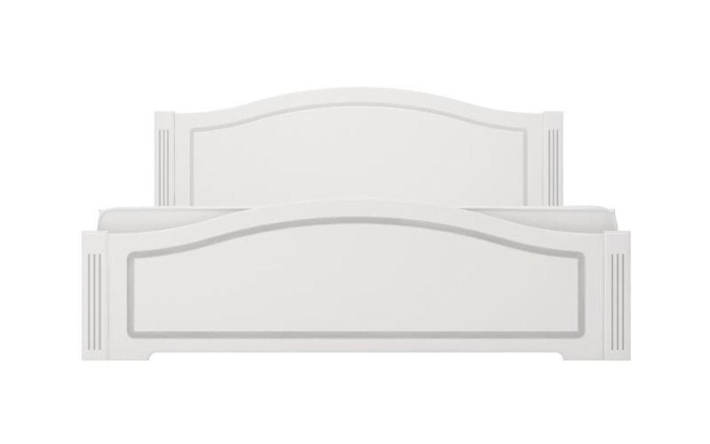 Кровати: Кровать двуспальная Виктория (1400, латы дерево) в Стильная мебель