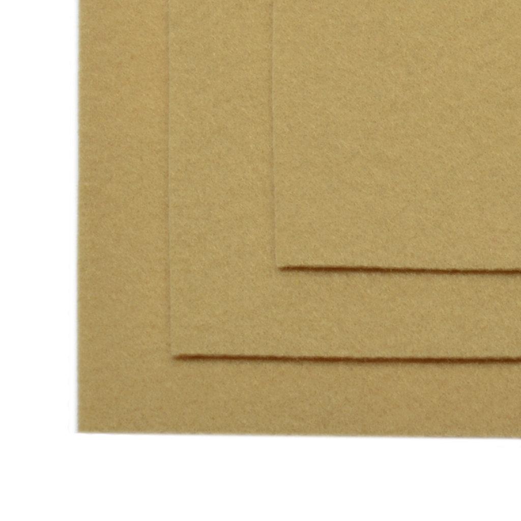 Фетр: IDEAL Фетр жёсткий 1мм 20*30см св.бежевый 1лист в Шедевр, художественный салон