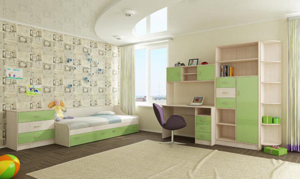Мебель для детской Буратино. Модульная серия.: Шкаф Стеллаж Буратино в Уютный дом