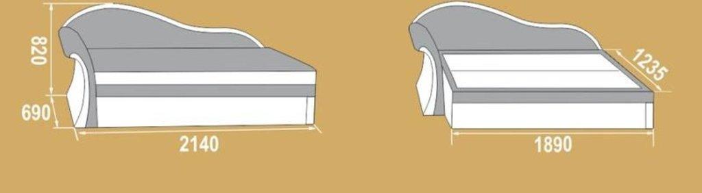 """Диваны: Тахта Ника (левый """"Г"""" - правый """"7"""") в Уютный дом"""
