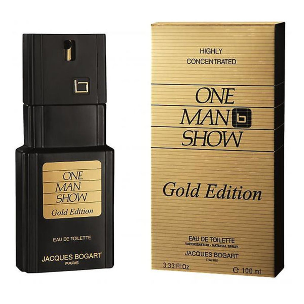 Для мужчин: Jacques Bogart One Man Show Gold edt м 100 мл в Элит-парфюм