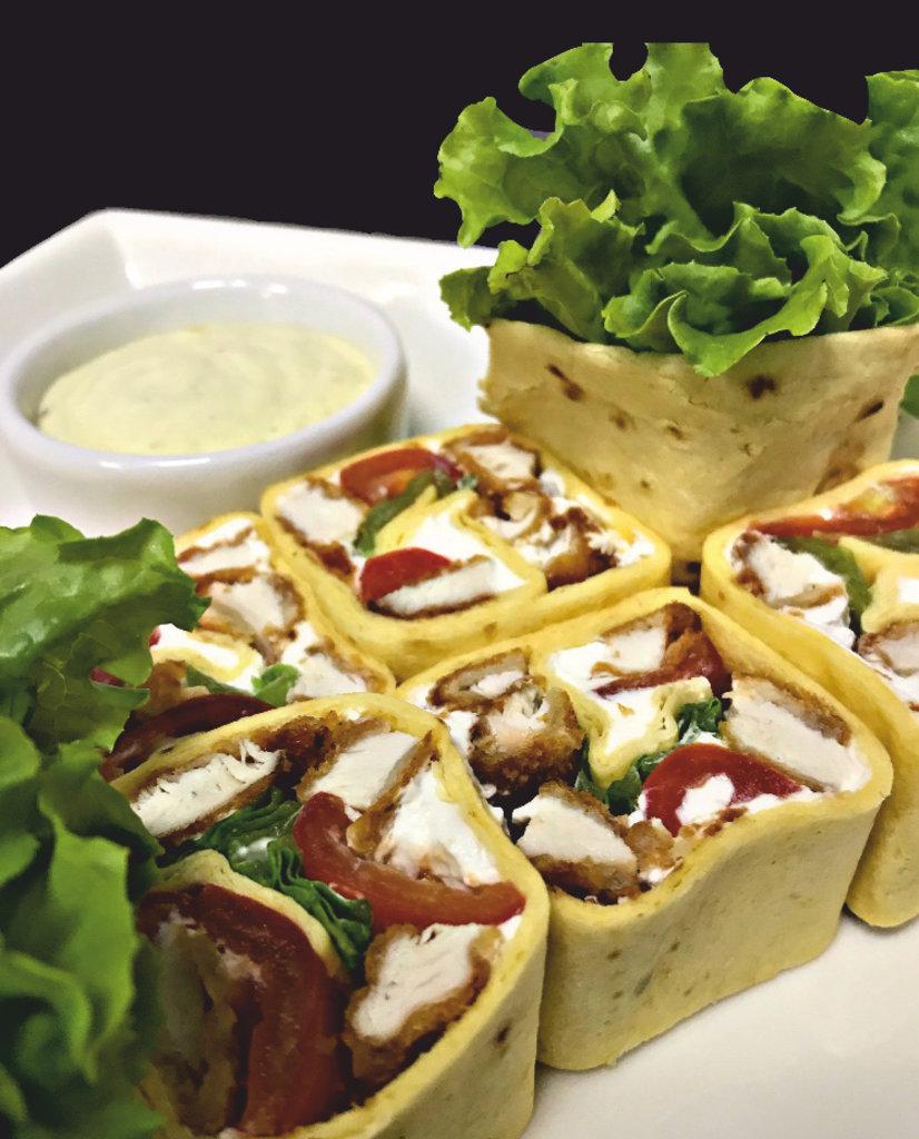 Роллы: Тортилья цезарь в Restorant SH