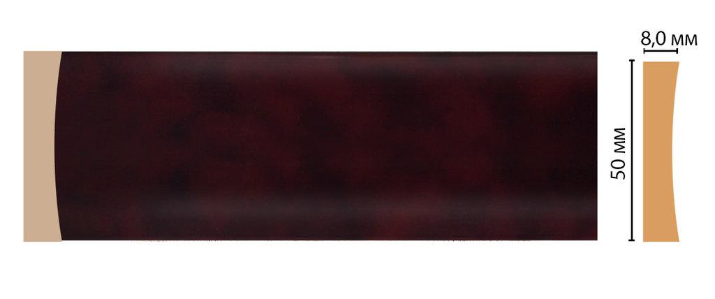 Молдинги: Цветной молдинг DECOMASTER D045-62 (50*8*2400) в Мир Потолков