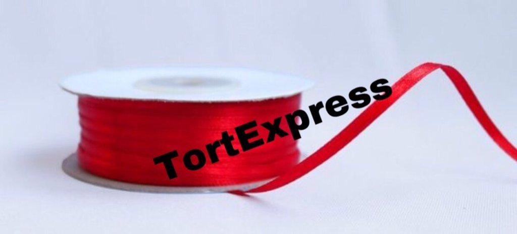 Ленты атласные: Лента атласная в ТортExpress