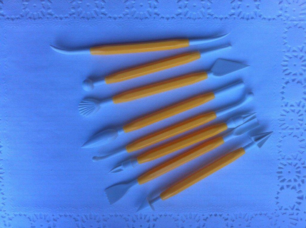 Инструменты для работы с мастикой: Набор инструментов 8 шт в ТортExpress