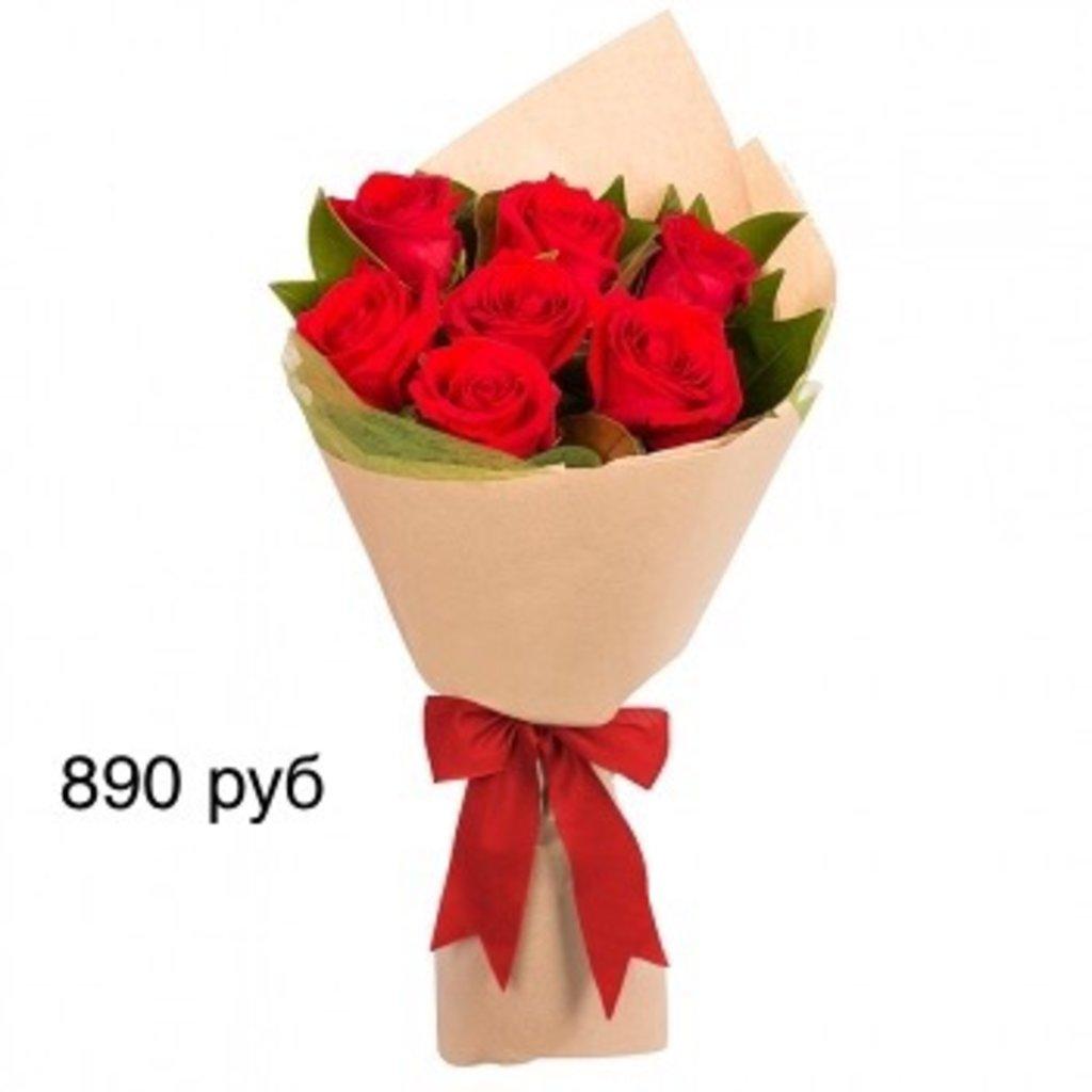 Букеты: Букет, роза красные в Николь, магазины цветов