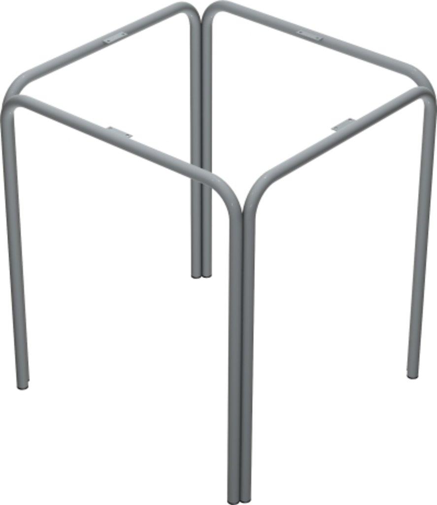 Столы для ресторана, бара, кафе, столовых.: Стол квадрат 78х78, подстолья № 4 серая в АРТ-МЕБЕЛЬ НН