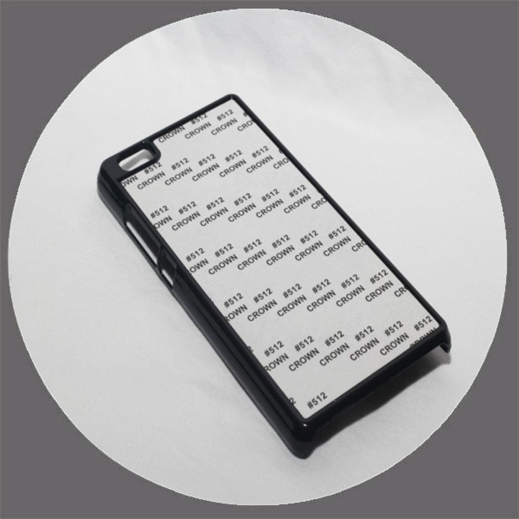 Huawei: Чехол для Huawei Р8 Lite Черный пластиковый в NeoPlastic