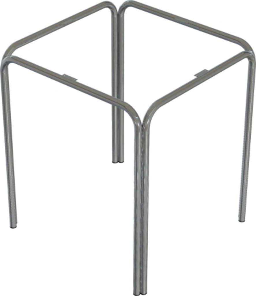 Столы для ресторана, бара, кафе, столовых.: Стол квадрат 65х65, подстолья № 4 серая в АРТ-МЕБЕЛЬ НН