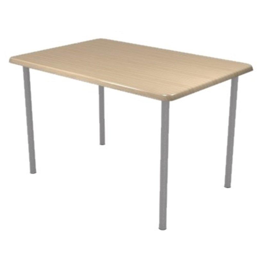 Столы для ресторана, бара, кафе, столовых: Стол прямоугольник 110х70, подстолья № 8 прямоугольник серая в АРТ-МЕБЕЛЬ НН