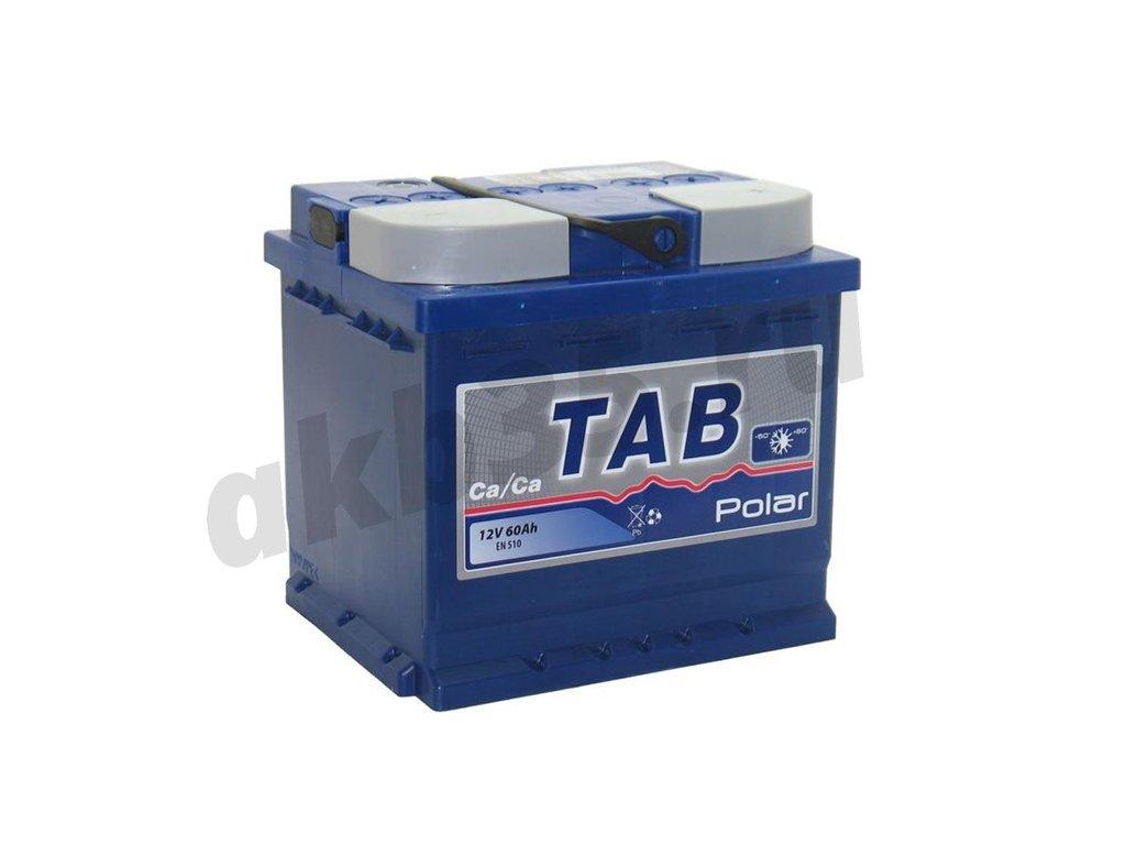 Аккумуляторы: TAB 60 А/ч Обратный Кубик POLAR в Планета АКБ