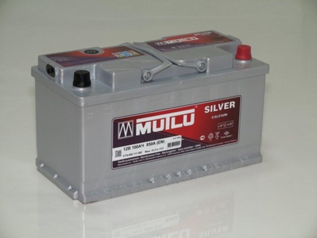 Аккумуляторы автомобильные: MUTLU SILVER 100 А/Ч L в Мир аккумуляторов