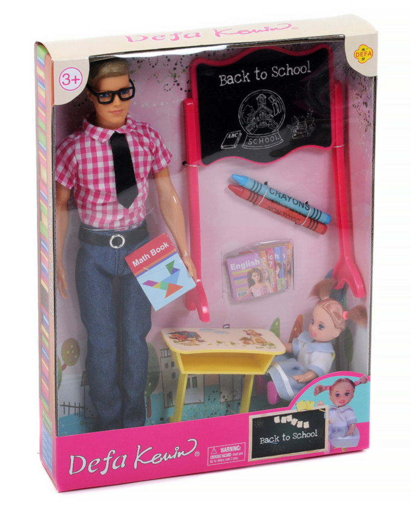 """Игрушки для девочек: Кукла """"Defa """"Учитель"""" с аксессуарами в Игрушки Сити"""