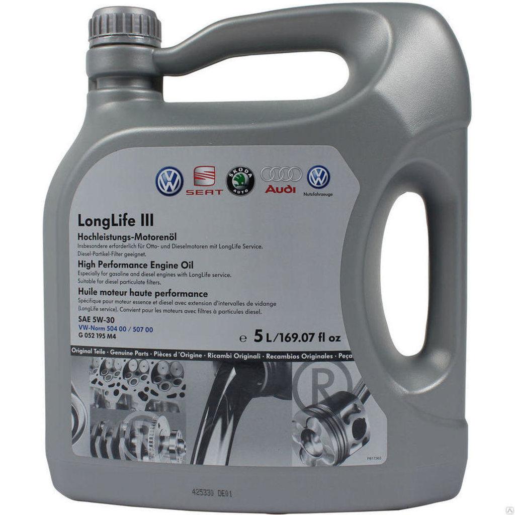 Автомасла VAG (Audi Vw Group): VAG 5W30 моторное масло (5.0 л) в Автомасла71