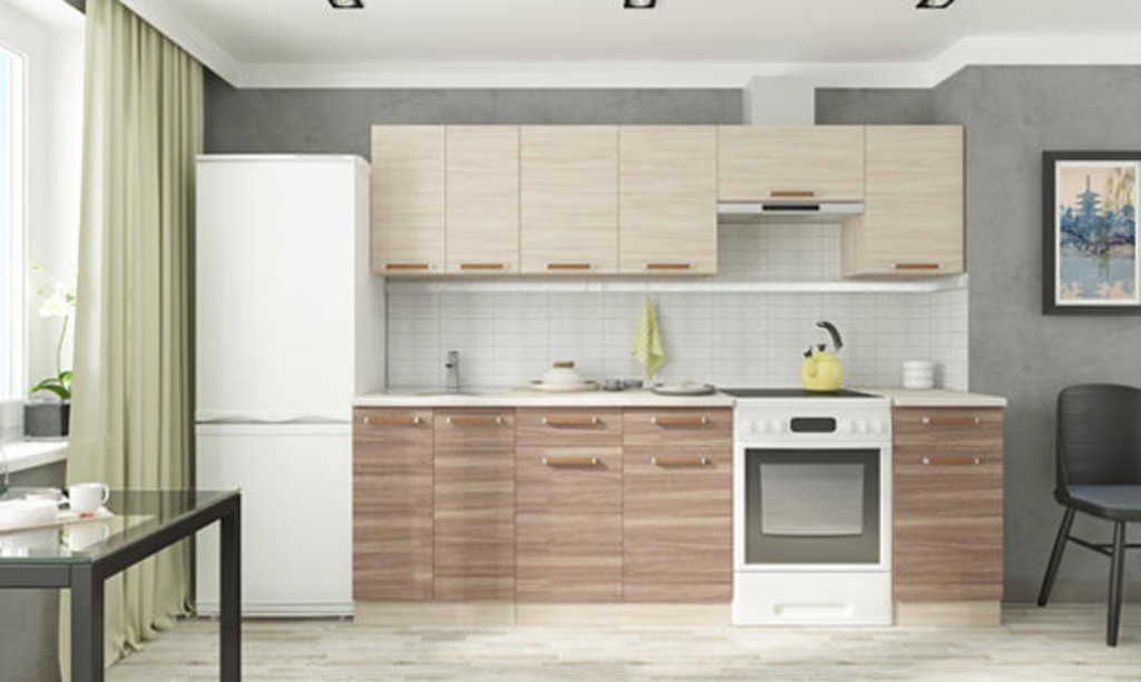 Мебель для кухни модульная серия Прага: Мойка 600. Кухня Прага в Уютный дом